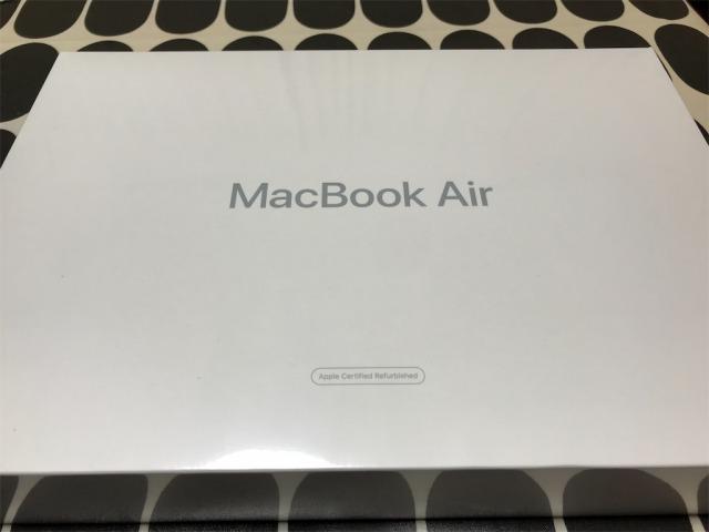 実際に整備済製品でMacBookを買ってみた
