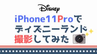 iPhone11Proで ディズニーランド 撮影してみた